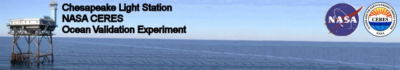 CERES Ocean Validation Experiment Banner